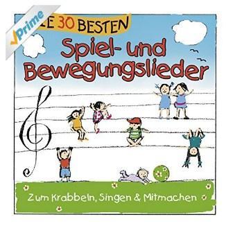 Kinderlieder CD Empfehlung