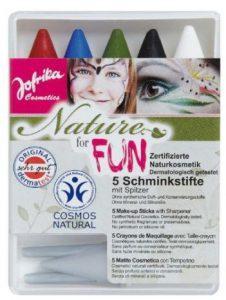 Kinderschminke Test Faschingsschminke für Kinder