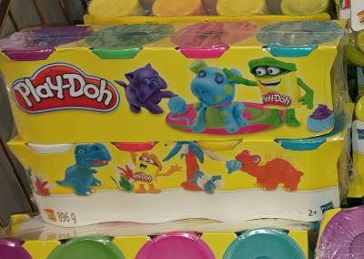 Knete Test Play Doh