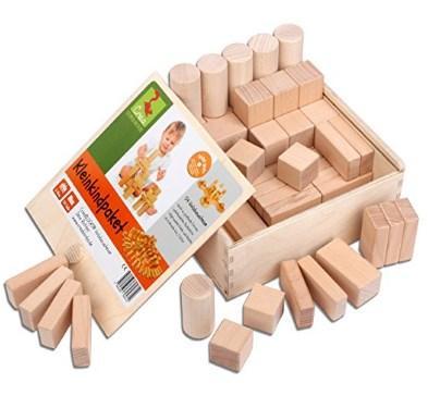 Holzbausteine Test CreaBlocks