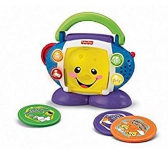 CD Player für Kinder Testbericht Fischer Price