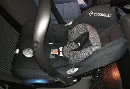 Maxi Cosi Cabriofix Test 2
