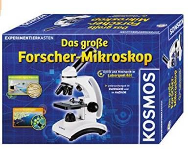 Mikroskop für Kinder Testbericht Kosmos