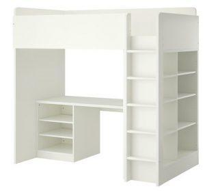 ikea kinderhochbett mit schreibtisch. Black Bedroom Furniture Sets. Home Design Ideas