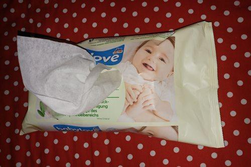 Baby Feuchttücher Test