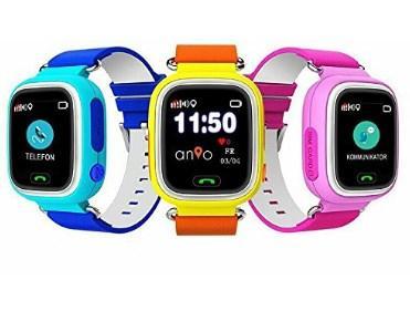 GPS Uhr für Kinder Test 2 Anio