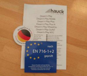 Reisebett Hauck Matratze