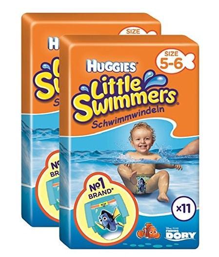 Schwimmwindel Vergleich Huggies