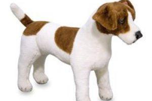 lebensechter Spielzeughund