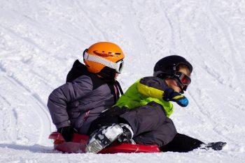 Kindergeburtstag im Schnee