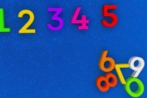 Zahlen und uhrzeit