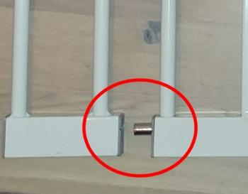 Montage Treppenschutzgitter