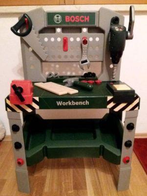 Bosch Spielzeug Werkbank Kinder