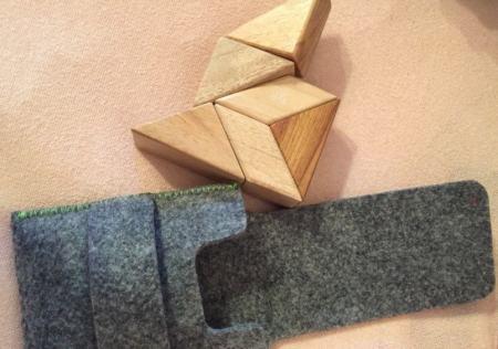 Magnetspielzeug aus Holz
