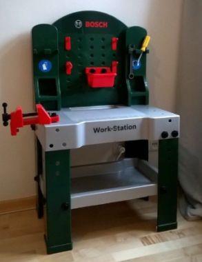 Werkbank Bosch Spielzeug