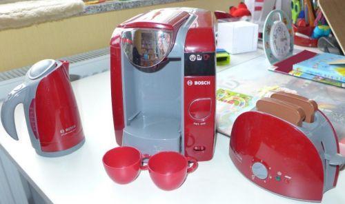 spielzeug kaffeemaschine toaster bosch