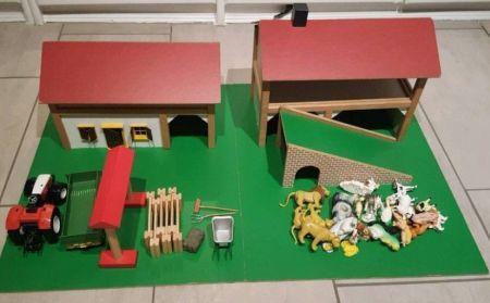 Holz Bauernhof Kinder