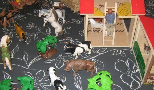 Spielzeug Bauernhof für Kinder
