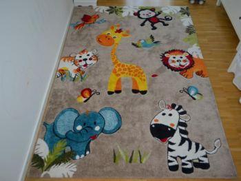 Baumwoll jungen Kinderteppich eckig