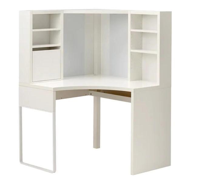 IKEA Schreibtisch MICKE Eckarbeitsplatz