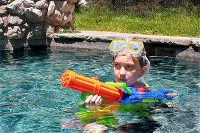 Wasserpistole Testsieger