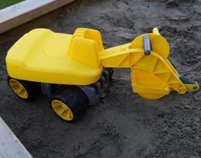 Sandkasten Bagger spielzeug