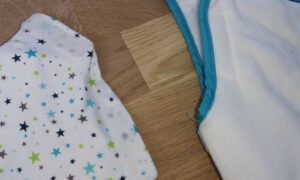 Babyschlafsack abnehmbare Ärmel Sterntaler