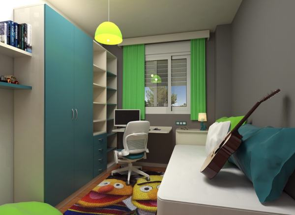 kleines Jugendzimmer
