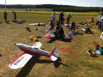 ferngesteuerten Flugzeug Test