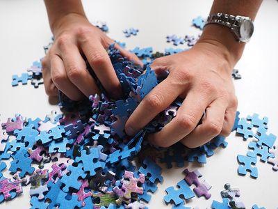 1000 Teile Puzzle Test