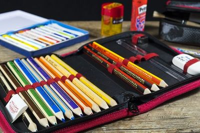 Federmäppchen für Grundschule und weiterführende Schulen