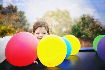 Luftballons fuer Kinder Test (1)