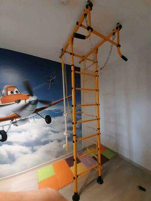 Indoor Klettergeruest fuers Kinderzimmer Testbericht (1)